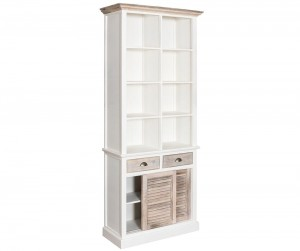 bristol white regał 1